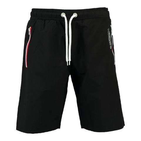 Geographical Norway Boy's Black Quasweet Swim Shorts