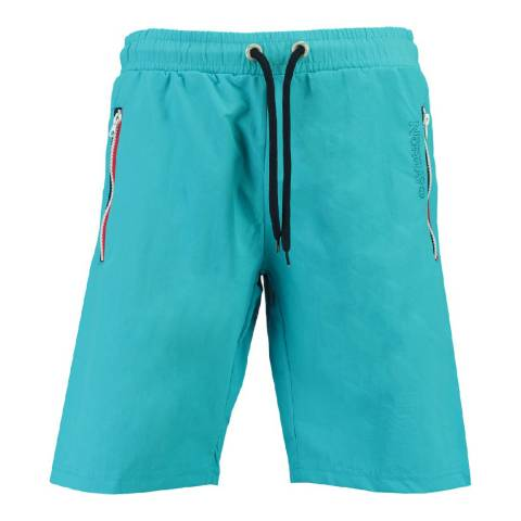 Geographical Norway Boy's Turquoise Quasweet Swim Shorts
