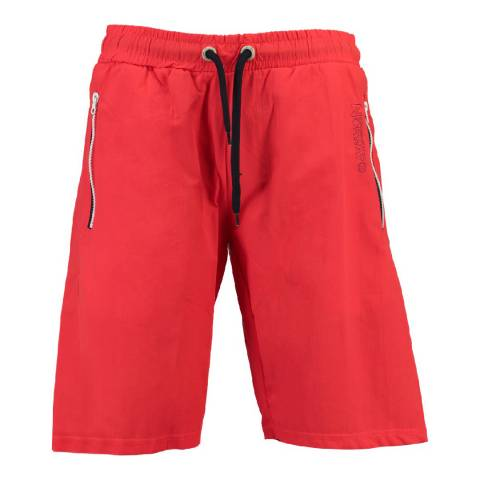 Geographical Norway Boy's Red Quasweet Swim Shorts