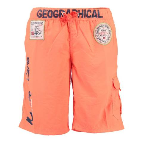 Geographical Norway Boy's Coral Quorban Swim Shorts