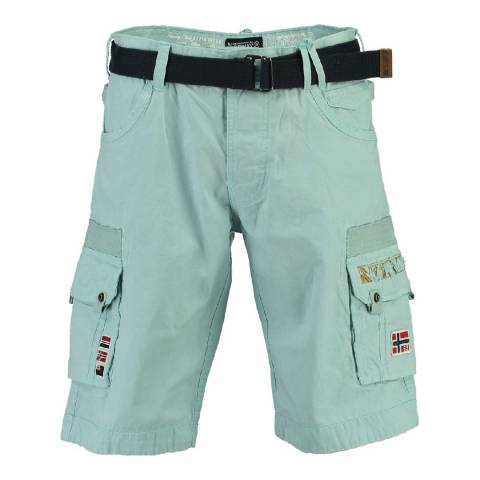 Geographical Norway Boy's Sky Blue Panoplie Shorts