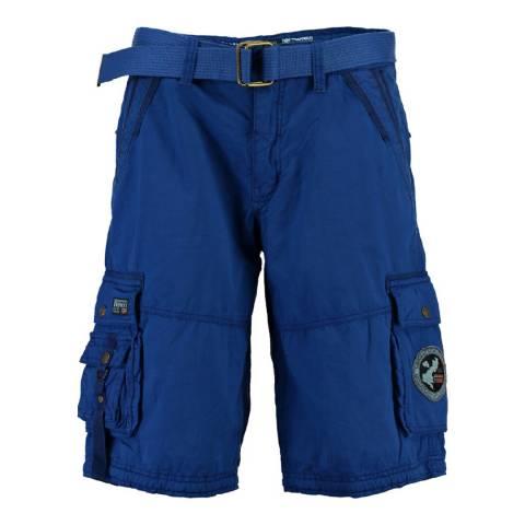 Geographical Norway Boy's Royal Blue Pantheon Shorts