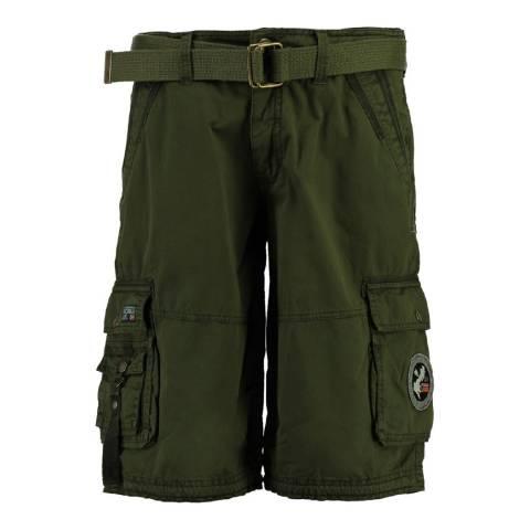 Geographical Norway Boy's Khaki Pantheon Shorts