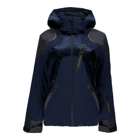 Spyder Women's Navy Black Labyrynth Jacket