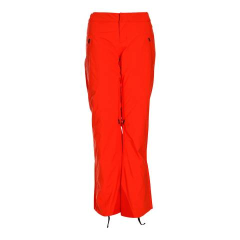 Spyder Women's Orange Kaleidoscope Pant