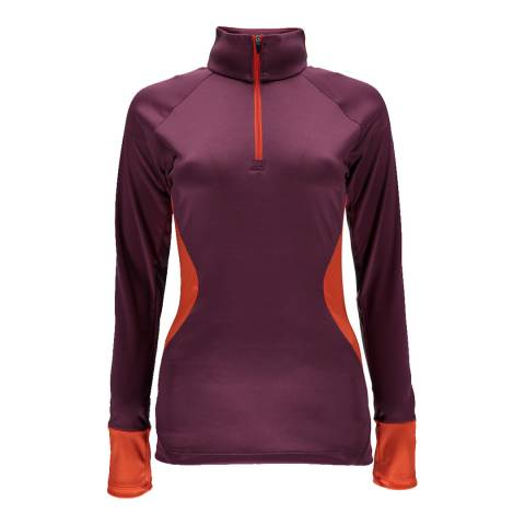 Spyder Women's Purple/Orange Olympia Jacket