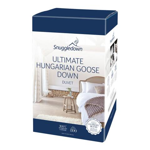 Snuggledown Hungarian Goose Down All Seasons Double 13.5 (4.5 + 9) Tog Duvet