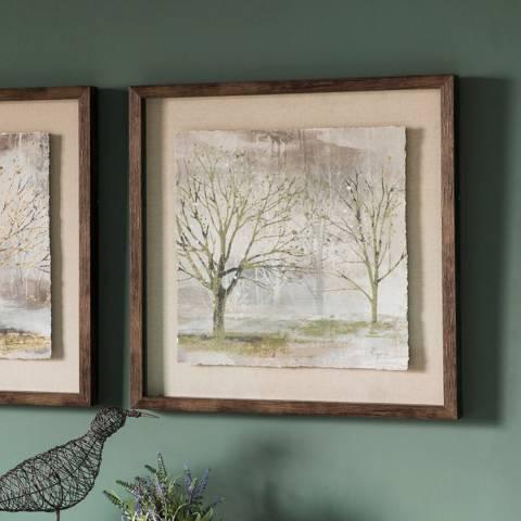 Gallery Morning Mist I Framed Art 64x64cm