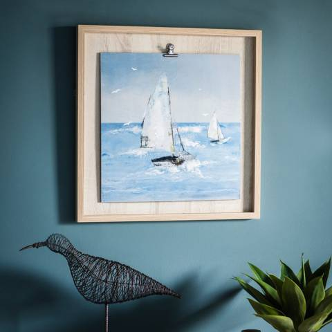 Gallery Sailing The Breeze I Framed Art 53x53cm