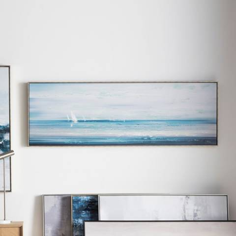 Gallery Summer Sailing Framed Art 152.5x52.5cm