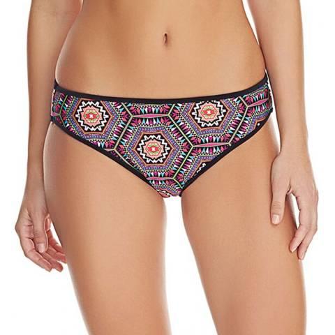 Freya Black/Multi Zeta Bikini Briefs