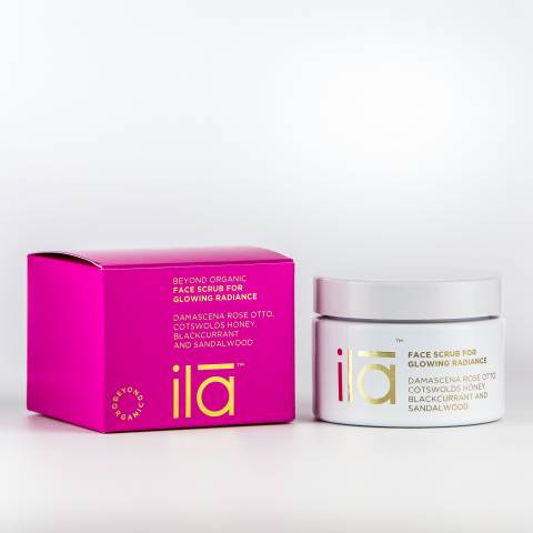 ila Face Scrub for Glowing Radiance