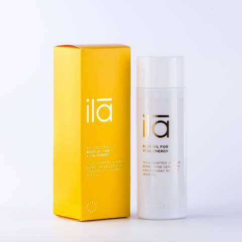 ila spa Body Oil for Vital Energy