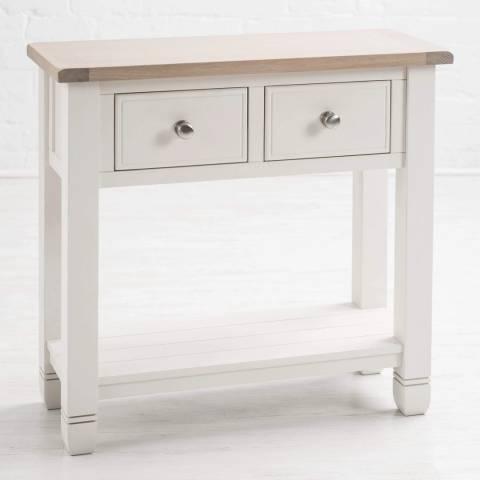 Maine Furniture Co. Faversham Small Console Table - White