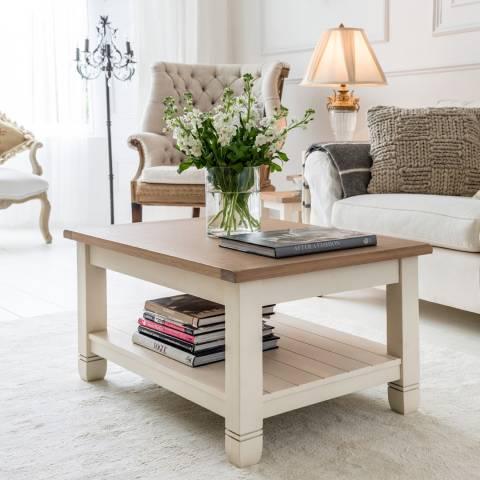 Maine Furniture Co. White Faversham Coffee Table