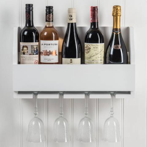Maine Furniture Co. Lewiston 4 Bottle Stem Wine Rack