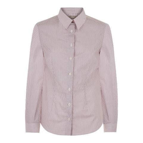 Jaeger Ginger Button Through Cotton Shirt