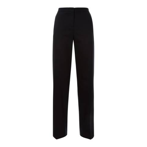 Jaeger Navy Tailored Straight Leg Trousers