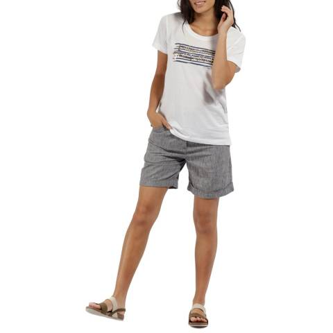 Regatta Navy Cotton Samarah Shorts