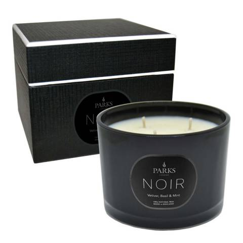 Parks London Wick Vetiver Basil 3 Wick Candle