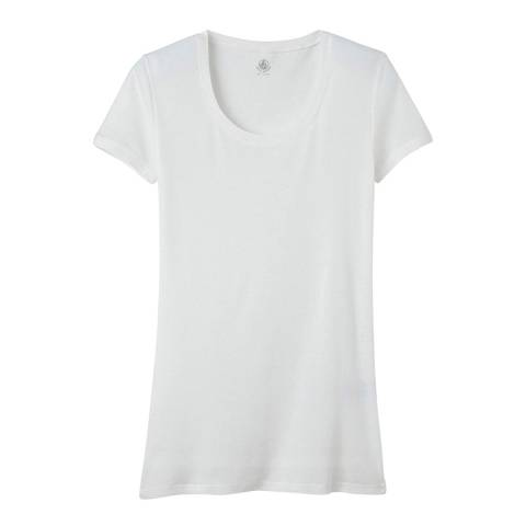 Petit Bateau White Light Cotton Top