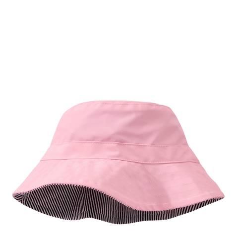 Petit Bateau Pink Waterproof Bucket Hat
