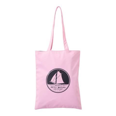 Petit Bateau Pink Shoulder Tote Bag