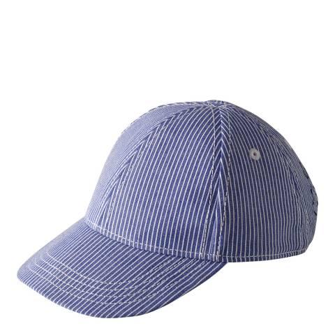 Petit Bateau Blue Striped Cap