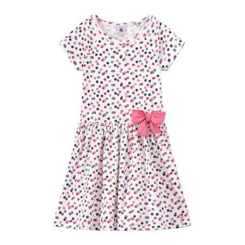 Petit Bateau Multi Coloured Polka-Dot Dress