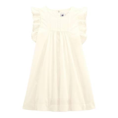 Petit Bateau Cream Formal Dress
