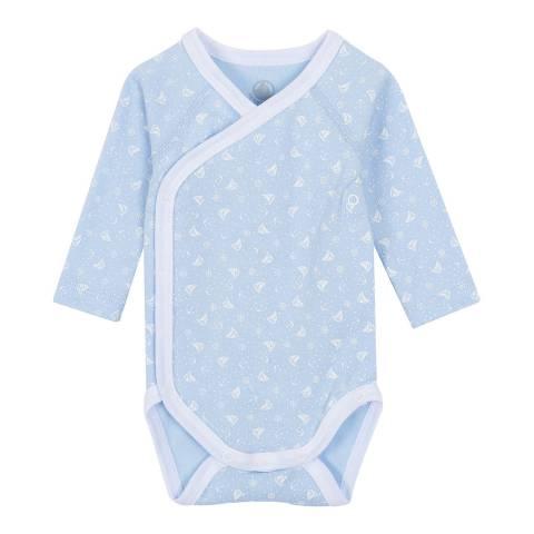 Petit Bateau Baby Boy's Set of 2 Newborn Long-Sleeved Bodysuits