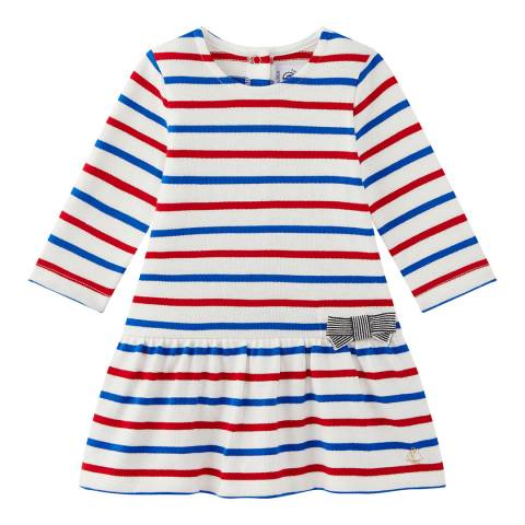 Petit Bateau Baby Girl's Multi Striped Dress