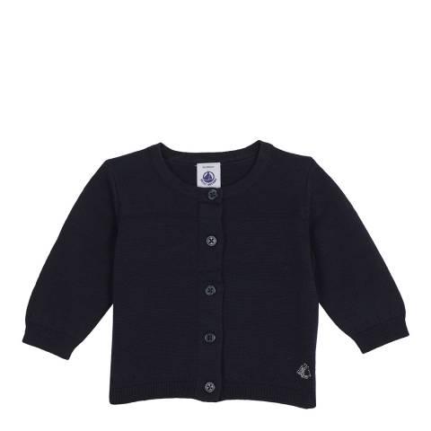 Petit Bateau Navy Baby's Unisex Cardigan