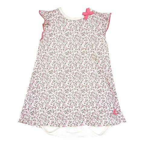 Petit Bateau Baby Girl's Multi Print Bodysuit Dress