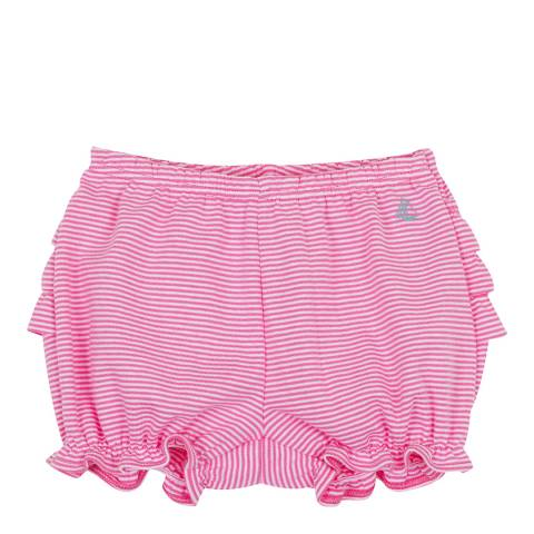 Petit Bateau Baby Girl's Pink Striped Bloomers