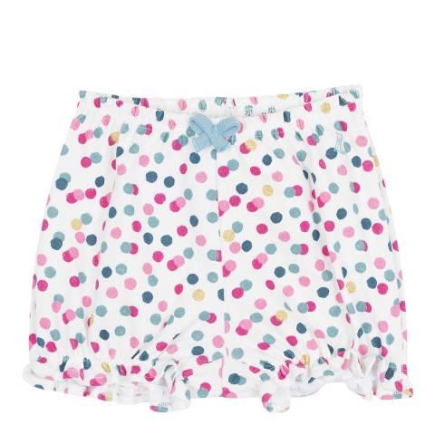 Petit Bateau Baby Girl's Polka Dot Bloomers