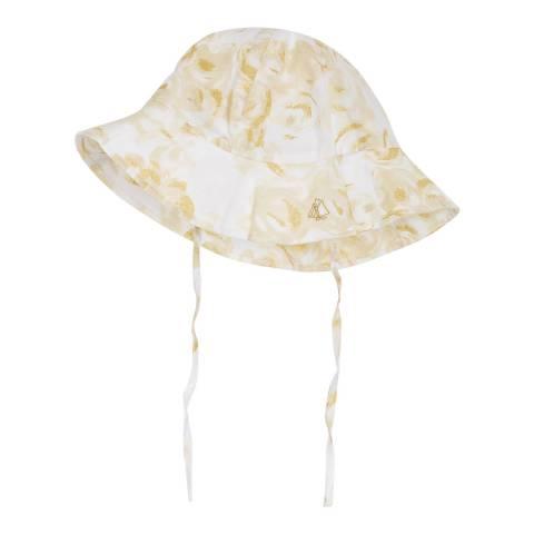 Petit Bateau Baby Girl's Printed Satin Hat