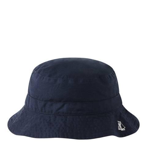 Petit Bateau Navy Twill Bucket Hat
