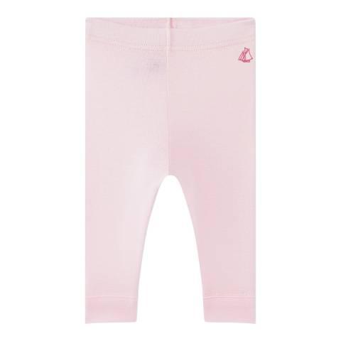 Petit Bateau Baby Girl's Light Pink Leggings