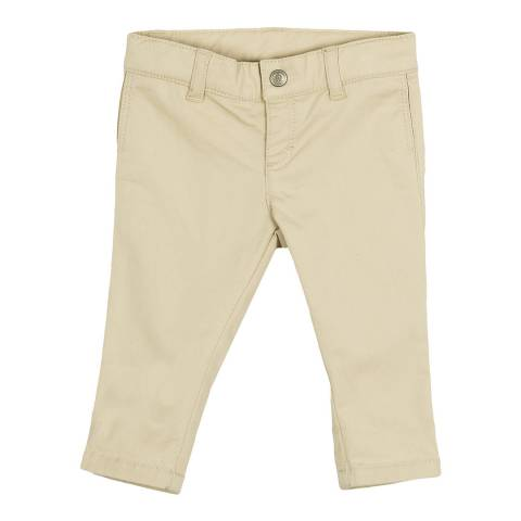 Petit Bateau Baby Boy's Beige Gabardine Pants