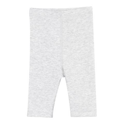 Petit Bateau Baby Girl's Grey Leggings