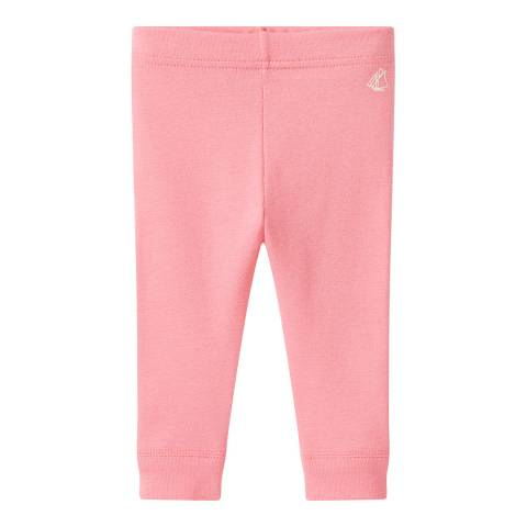 Petit Bateau Baby Girls' Pink Leggings