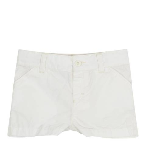 Petit Bateau Baby Boy's Cream Cotton Shorts