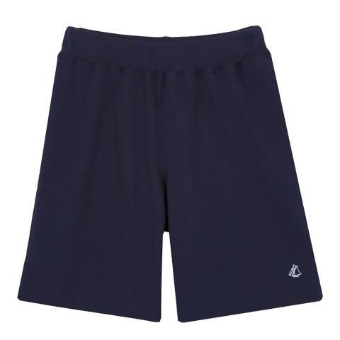 Petit Bateau Navy Cotton Shorts