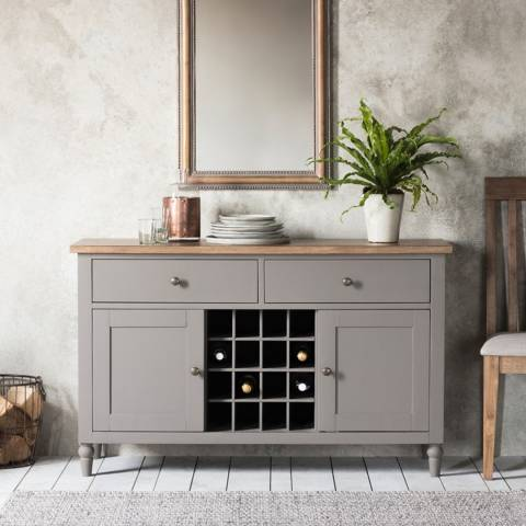 Gallery Cookham Large Sideboard, Grey