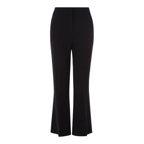 Karen Millen Black Kick-Flare Tailored Trousers