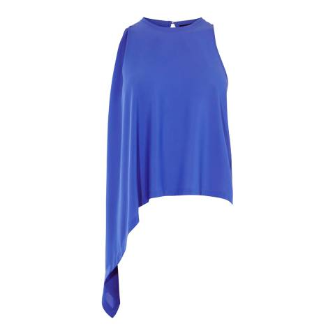 Karen Millen Blue Knot Side Top