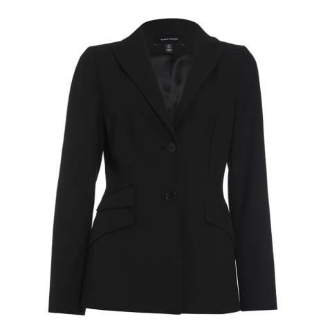 Karen Millen Black Tailored Button Up Jacket