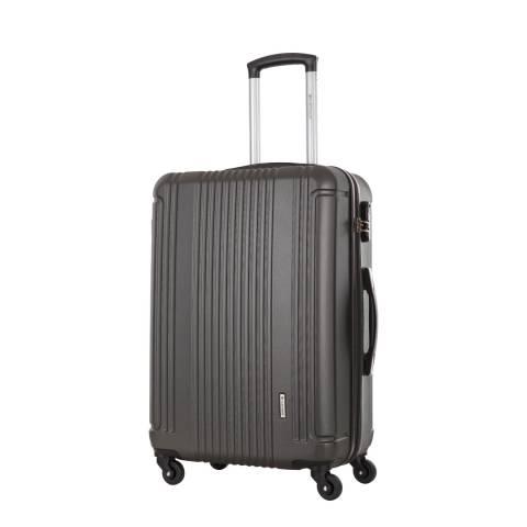 Platinium Grey 4 Wheel Antegria Suitcase 60cm