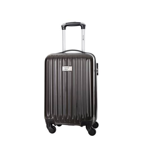Steve Miller Grey 4 Wheel Rigid Eagle Cabin Suitcase 46 cm